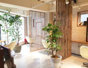 Tie(タイ)Beauty Salon 大阪福島の美容室の店内