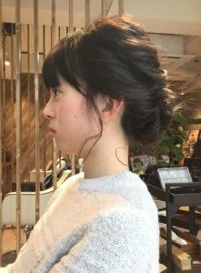 口コミ およばれ☆波巻き編み込みアレンジ